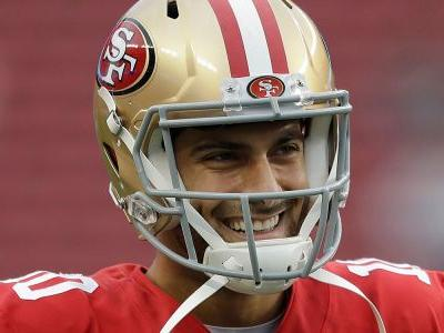Jimmy Garoppolo made $79,000 because the Patriots are in the Super Bowl and has another $112,000 on the line