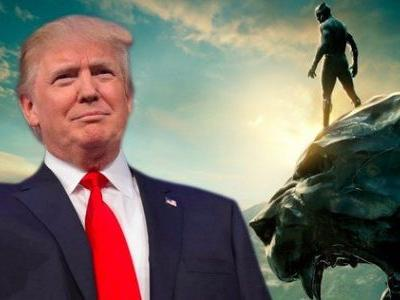 Reporters Offered Reward to Ask Trump About Black Panther's Nation of Wakanda
