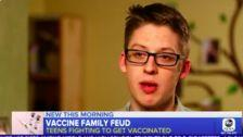 Teen Who Defied Anti-Vaxx Mom Speaks Out: Vaccinations Are 'Good And Beneficial'