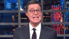 Colbert Finds A Whole New Way To Call Fox News Host Jeanine Pirro A Racist