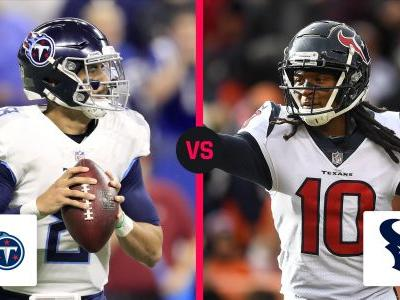 Titans vs. Texans: Score, live updates, highlights from Monday night game