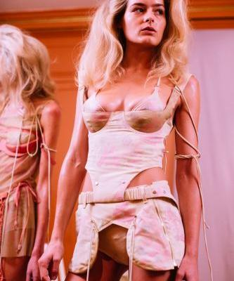 Charlotte Knowles' sensual LFW collection for Fashion East