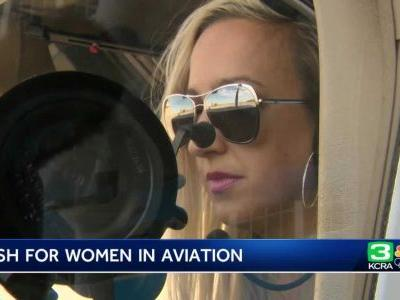 'I was terrified to fly for 10 years': Woman conquers fear of flying by becoming a pilot