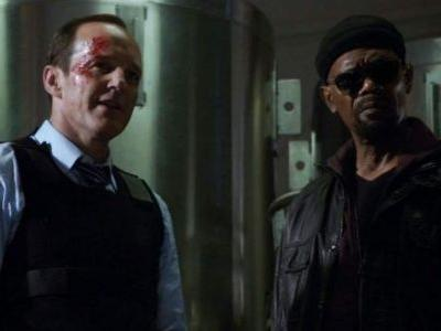 "Nick Fury and Phil Coulson Have a ""Meet-Cute"" in 'Captain Marvel,' Clark Gregg Teases"