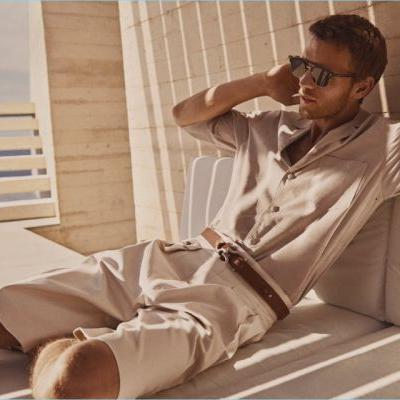Benjamin Eidem Embraces a 'Summer of Ease' for BOSS Spring '18 Campaign