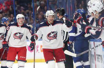 Blue Jackets stun Lightning again to take 2-0 series lead