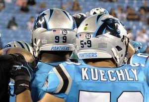 Panthers' Kuechly leaves game, enters concussion protocol