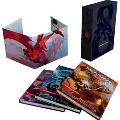 This stylish Dungeons & Dragons Core Rulebooks Gift Set is perfect for new adventurers