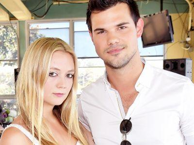 Billie Lourd Is On A Well-Deserved Vacation With Taylor Lautner