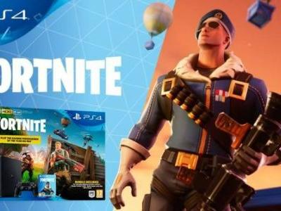 Fortnite PlayStation 4 Bundle arrives next month with exclusive Royal Bomber skin
