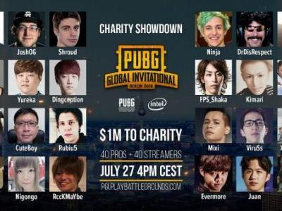 PUBG Charity Showdown will see $1 million donated to charity