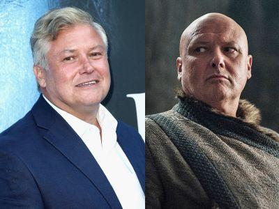 'Game of Thrones' actor Conleth Hill reveals Varys' motivations and how fans get 'freaked out' by his full head of hair