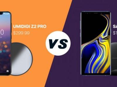 UMIDIGI Z2 Pro VS Samsung Note 9 - Is it worth over 3 times the price?