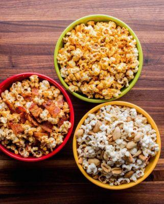Amp up your game-day popcorn 3 creative ways: Smoky Bacon, Sweet
