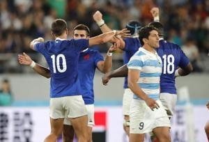Lopez's dropped goal saves France in 23-21 win vs. Argentina