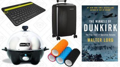 Sunday's Best Deals: Dash Go Egg Cooker, Luggage Sale, Firefly, and More