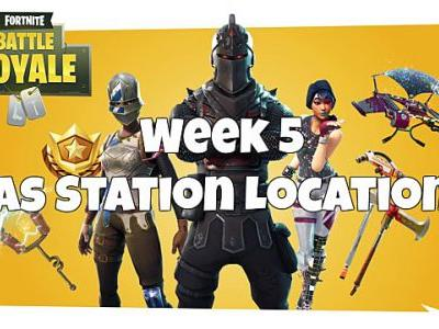 Fortnite Weekly Challenge - Gas Station Locations