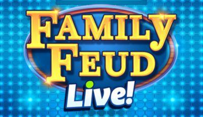 It's time to play. Family Feud Live!