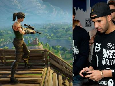 Drake Being a 'Fortnite' Streamer Is Pretty Much the Future of Rap