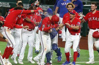 Rangers score two runs in extras to beat Astros, 5-4