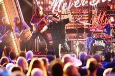 Luke Combs Brings the Energy For 'Beer Never Broke My Heart' at the 2019 CMA Awards