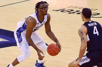 Denzel Mahoney leads No. 11 Creighton past No. 23 UConn with game-high 20 points