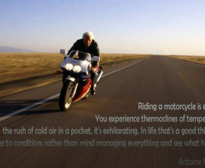 Motorcycle Philosophy: Antoine Predock on Ride With Norman Reedus