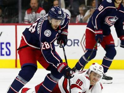 Blue Jackets snap Hurricanes' season-opening 5-game streak