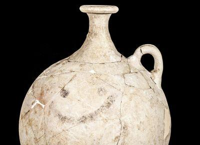 Archeologists Unearth Ancient Smiley Face on a 3,700-Year-Old Jug