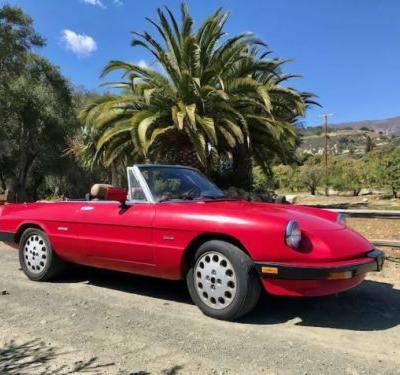 At $4,500, Is This 1989 Alfa Romeo 2000 Spider Graduate At The Top Of Its Class?