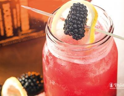 Blackberry Bourbon Lemonade with Duke's Kentucky Straight Bourbon