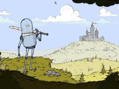 Feudal Alloy is a Switch-bound Metroidvania with Fishbowl-powered medieval robots