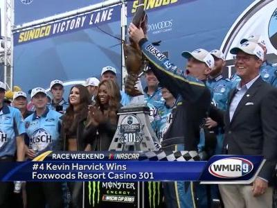4 Kevin Harvick wins Foxwoods Resort Casino 301