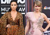 People Think Demi Lovato Subtly Shaded Taylor Swift During Her BBMAs Speech