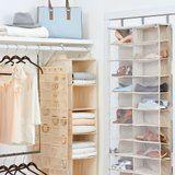 This Amazing Organizer Will Solve All of Your Small-Closet Problems - and It's Less Than $100!
