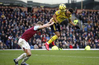 Arsenal held 0-0 by Burnley, sits 10th in Premier League