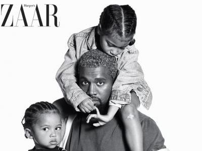 Saint and North West Share Their First Magazine Cover