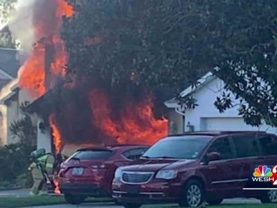 Amazon driver runs into burning home to rescue elderly man