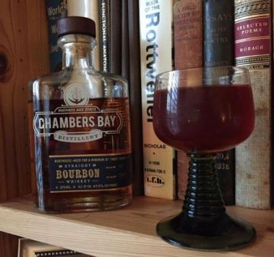 What I'm Drinking: The Hounds They Start to Roar with Chambers Bay Straight Bourbon