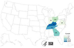 E. coli O103 Outbreak in Indiana, Ohio, Kentucky, Tennessee, Virginia and Georgia