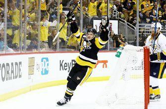 Guentzel's late goal lifts Penguins over Predators in Game 1 of Stanley Cup Final
