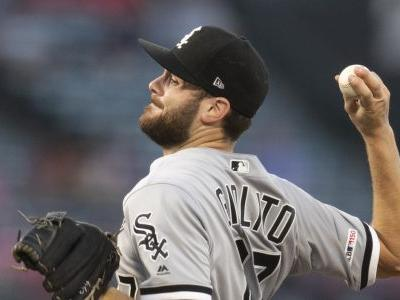 Giolito Ks 11, McCann hits slam as White Sox top Angels 7-2