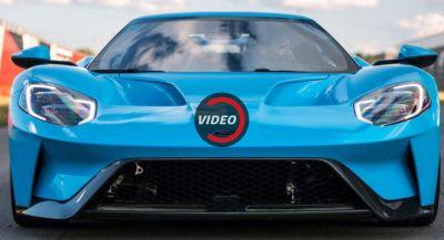 2017 Ford GT Looks Perfect Painted In Riviera Blue