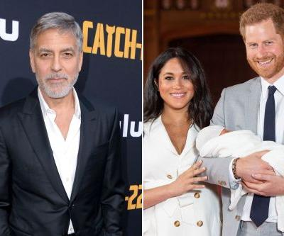 George Clooney says he isn't royal baby Archie's godfather