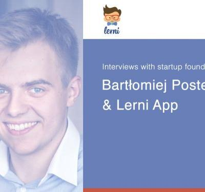 Interviews with startup founders: Lerni app