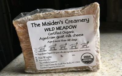 Warning: Organic, raw goat milk cheese positive for Listeria