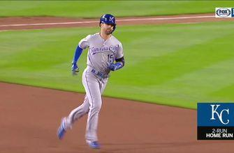 WATCH: Whit goes deep twice in Royals' win over Mariners