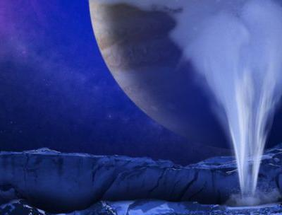 Europa water plume: Another step toward living on a moon