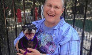 "Widow Goes Into Shelter & Decides To Give A Home To Their ""Hardest To Adopt"" Dog"
