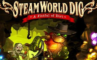 Steamworld Dig 1 Coming to Nintendo Switch